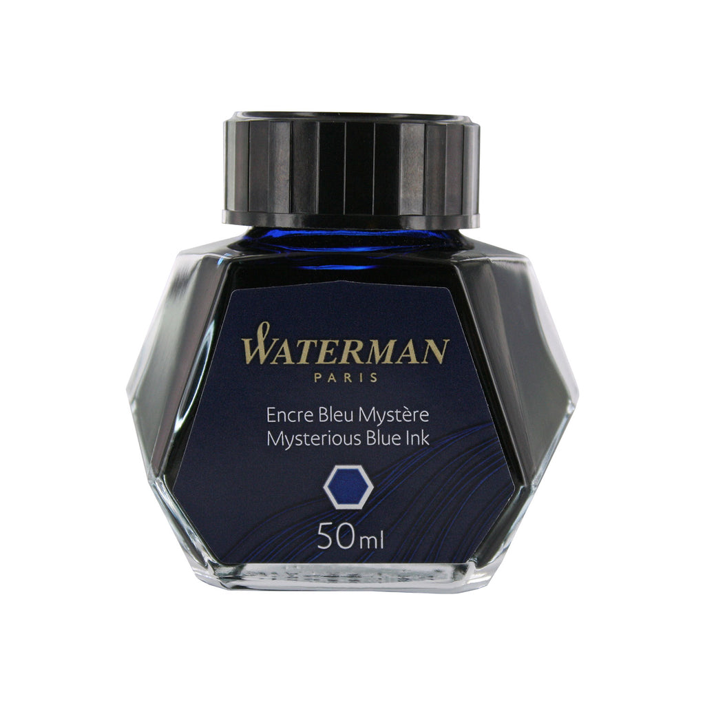 Waterman Mysterious Blue Fountain Pen Bottled Ink For Fountain Pens