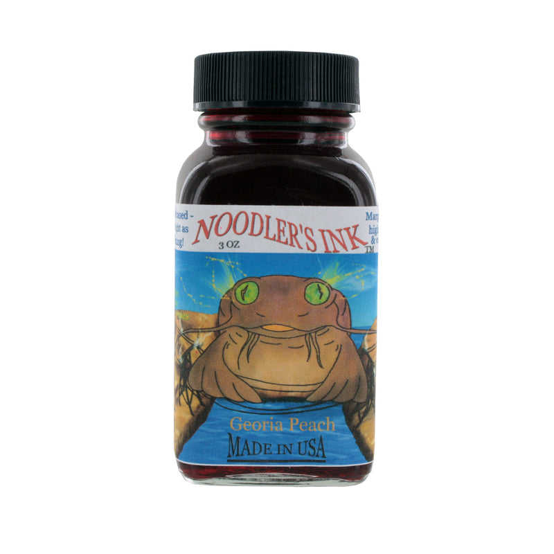 Noodler's Ink Fountain Pen Bottled Ink, 3oz - Highlighter Georgia Peach