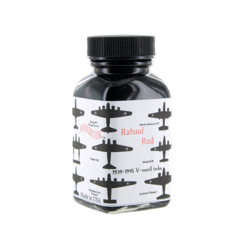 Noodler's Ink Fountain Pen Bottled Ink, 3oz - VMail Rabaul Red
