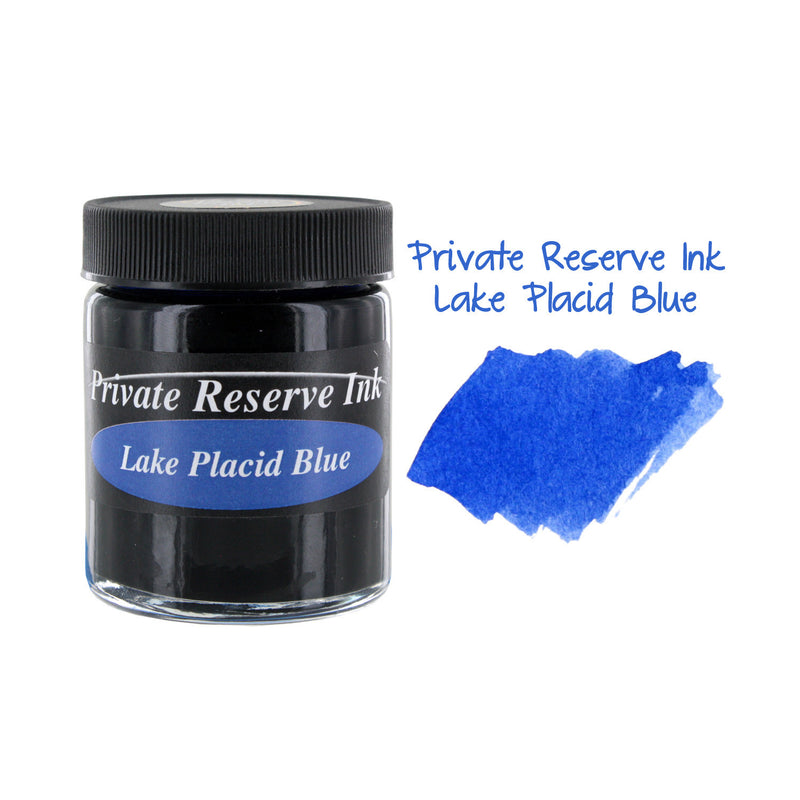 Private Reserve Fountain Pen Bottled Ink, 50ml - Lake Placid Blue