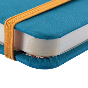 Rhodia Rhodiarama A5 Webnotebook, 5.5 in x 8.25, Lined - Turquoise (118747)