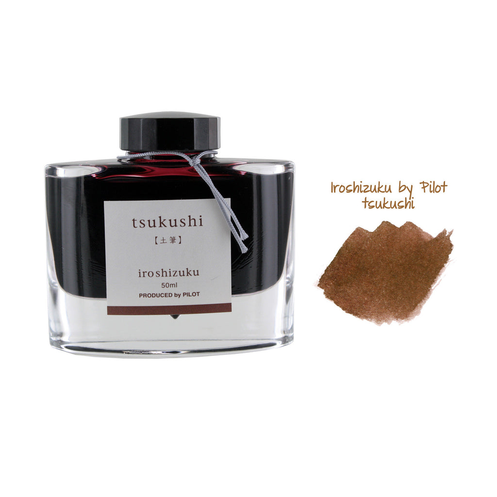 Pilot Iroshizuku Bottled Fountain Pen Ink, 50ml - Tsukushi