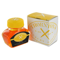 Thornton's Luxury Goods Fountain Pen Ink Bottle, 30ml - Yellow