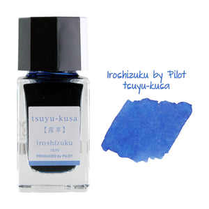 Pilot Iroshizuku Mini Fountain Pen Bottled Ink, 15ml, Tuyu-Kusa