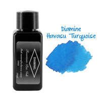 Diamine Fountain Pen Bottled Ink, 30ml - Havasu Turquoise