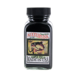Noodler's Ink Fountain Pen Bottled Ink, 3oz - Green Marine