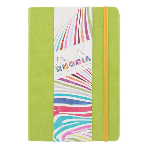 Rhodia Rhodiarama A5 Webnotebook, 5.5 in x 8.25, Lined - Anise (118746)