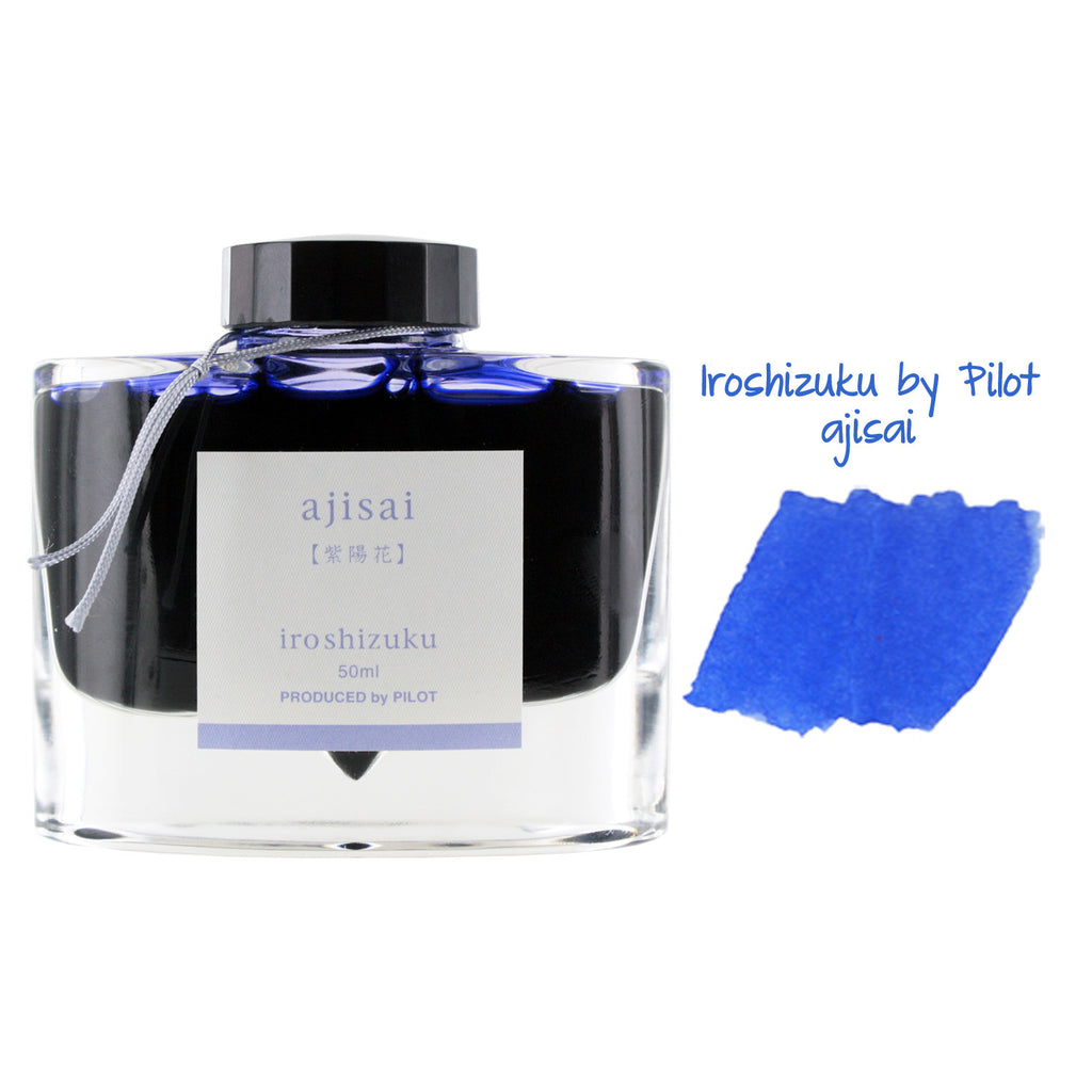 Pilot Iroshizuku Bottled Fountain Pen Ink, 50ml - Ajisai