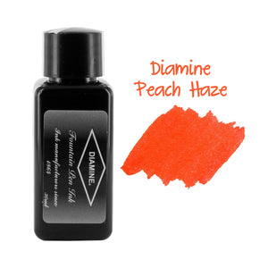 Diamine Fountain Pen Bottled Ink, 30ml - Peach Haze