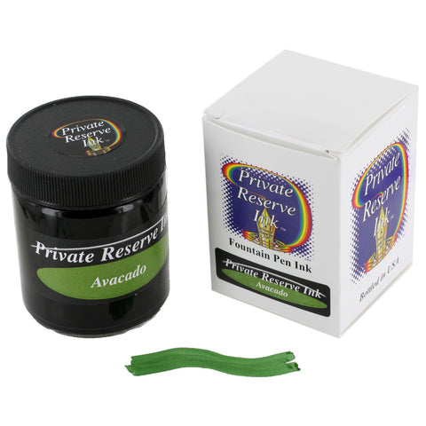 Private Reserve Fountain Pen Bottled Ink, 50ml - Avacado Green