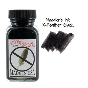 Noodler's Ink Fountain Pen Bottled Ink, 3oz - X-Feather Black