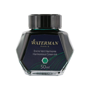 Waterman Harmonious Green Fountain Pen Bottled Ink For Fountain Pens
