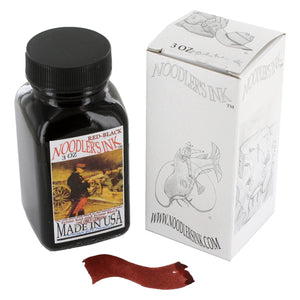 Noodler's Ink Fountain Pen Bottled Ink, 3oz - Red-Black