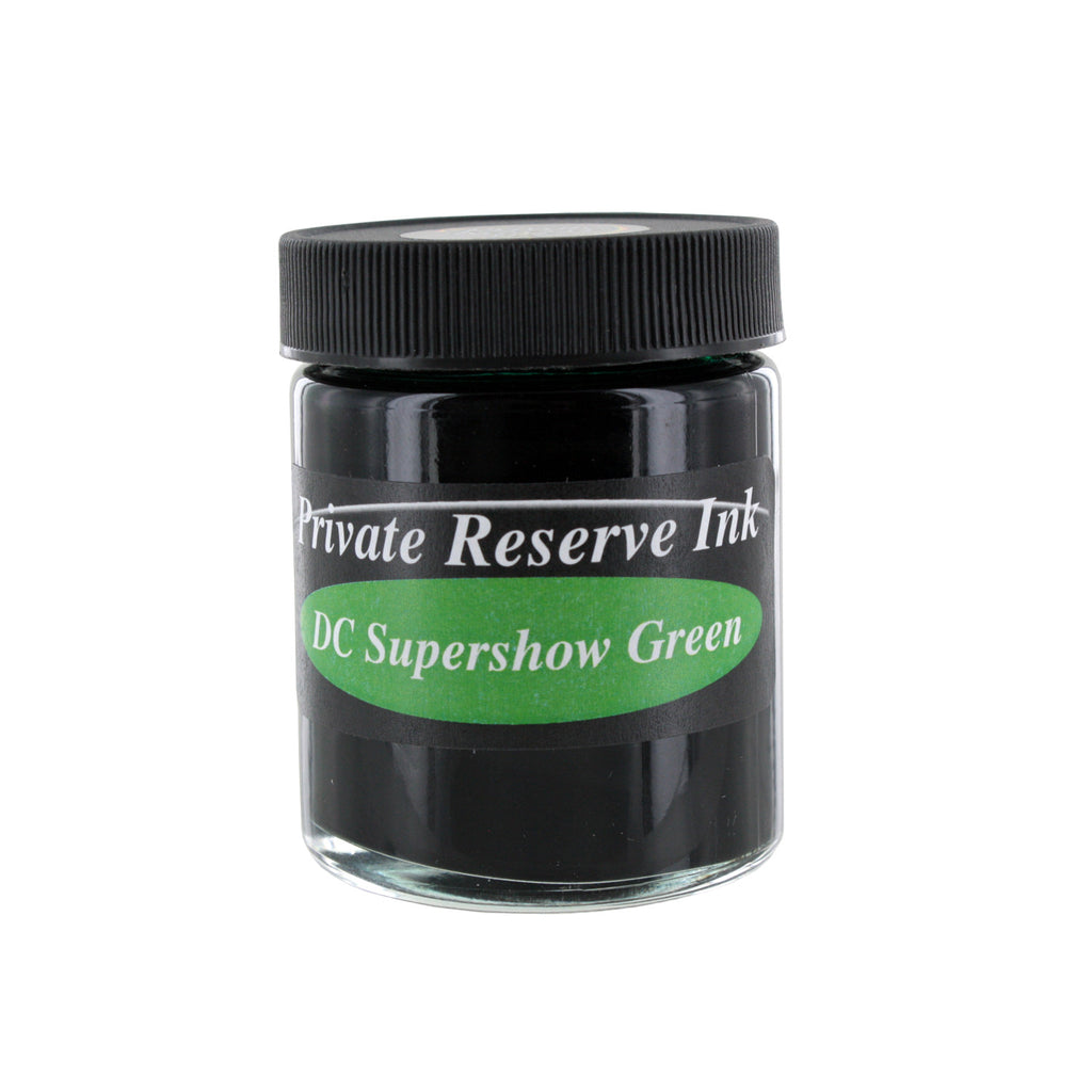 Private Reserve Fountain Pen Bottled Ink, 50ml - DC Supershow Green