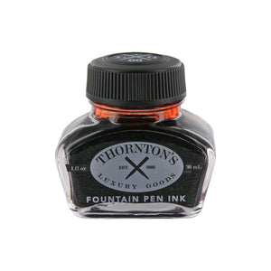 Front view of the Thornton's Luxury Goods Fountain Pen Bottled Ink