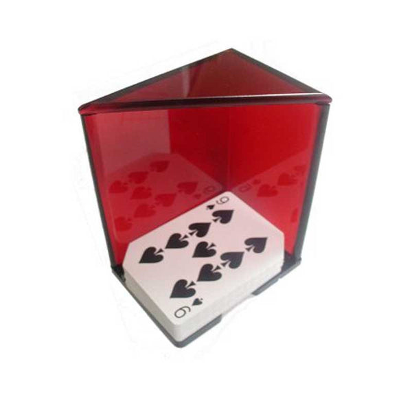 Red 6 Deck Discard Holder, Poker Supplies, TradeMark - Olhausen Online