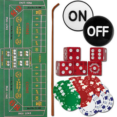 Craps Set, Casino Games, TradeMark - Olhausen Online