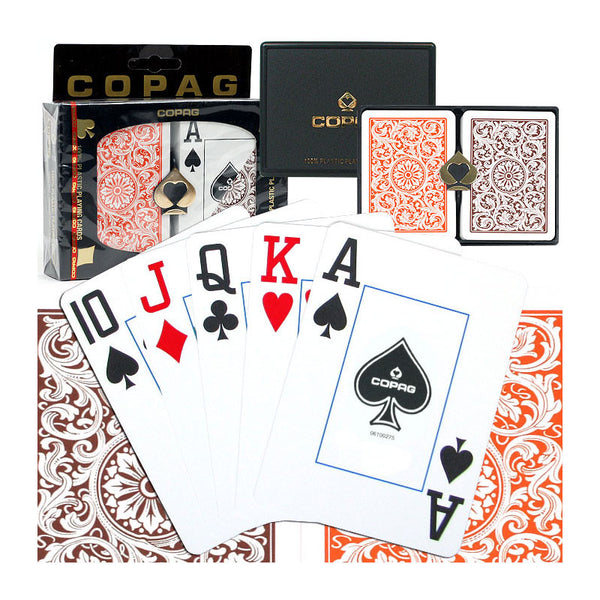 Copag Poker Size JUMBO Index, Playing Cards, TradeMark - Olhausen Online
