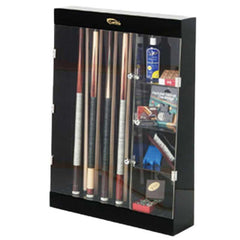 10 Cue Wall Display Case w/ Storage, Cue Case, CueStix - Olhausen Online