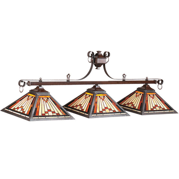 "54"" Laredo Billiard Light, Billiard Lighting, Ram Gamerooms - Olhausen Online"