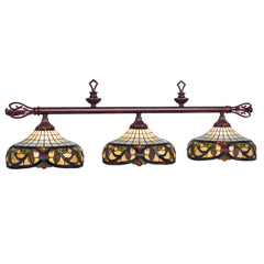 "60"" Harmony Stained Glass Billiard Light, Billiard Lighting, Ram Gamerooms - Olhausen Online"