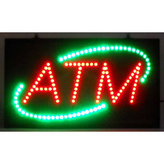 ATM LED Sign, LED Signs, Neonetics - Olhausen Online