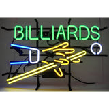Billiards Hand & Cue Neon Sign, Neon Sign, Neonetics - Olhausen Online