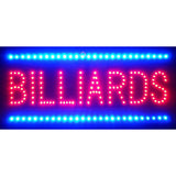 Billiards LED Sign, LED Signs, Neonetics - Olhausen Online