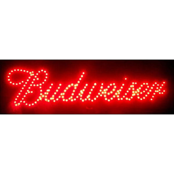 Budweiser LED Sign, LED Signs, Neonetics - Olhausen Online