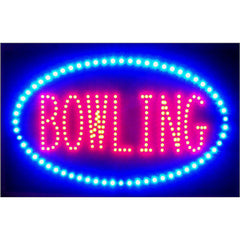Bowling LED Sign, LED Signs, Neonetics - Olhausen Online