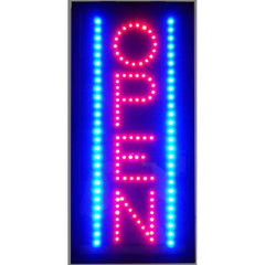 Vertical Open LED Sign, LED Signs, Neonetics - Olhausen Online