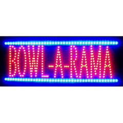 Bowl-A-Rama LED Sign, LED Signs, Neonetics - Olhausen Online