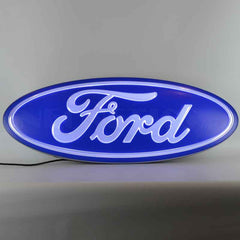 Ford Oval Shaped LED Neon, Neon Sign, Neonetics - Olhausen Online