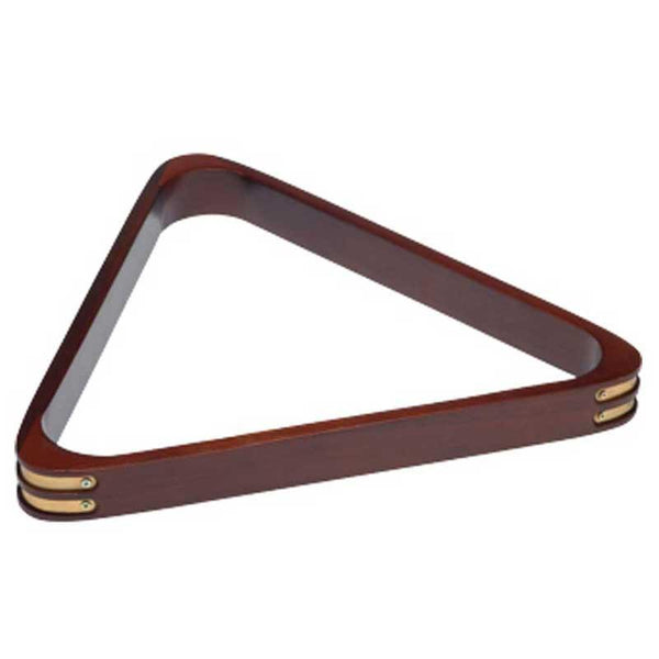 8 Ball Triangle w/ Brass Corners, Billiard Ball Racks, CueStix - Olhausen Online