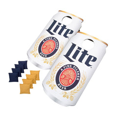 Miller Light Can Cornhole Game, Outdoor Games, TradeMark - Olhausen Online