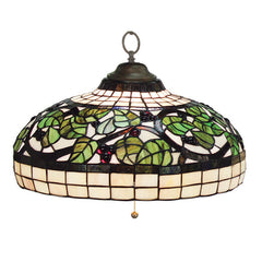 Sonoma Stained Glass Pendant Light, Pendant Lighting, Ram Gamerooms - Olhausen Online