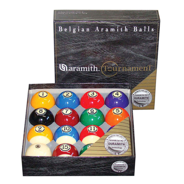 Aramith Tournament Ball Set, Pool Balls, CueStix - Olhausen Online