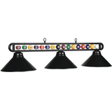 "56"" Billiard Ball Glass Light, Billiard Lighting, Ram Gamerooms - Olhausen Online"