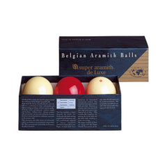 Super Aramith Carom Deluxe Ball Set, Billiard Balls, CueStix - Olhausen Online