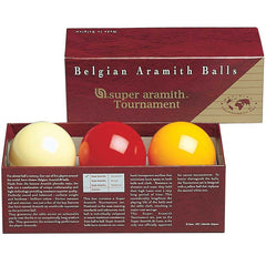 Aramith Super Tournament Carom Ball Set, Carom Balls, CueStix - Olhausen Online