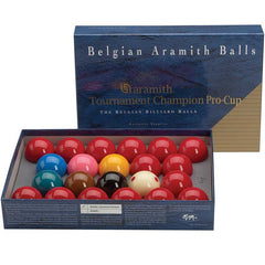 Aramith Tourn Snooker Ball Set Pro Cup Cue Ball, Snooker Balls, CueStix - Olhausen Online