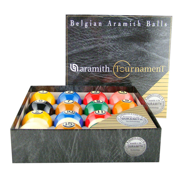 Aramith Tourn Pro Cup TV Set, Pool Balls, CueStix - Olhausen Online