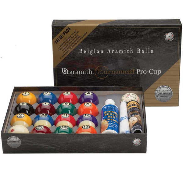 Aramith Tournament Value Pack, Pool Balls, CueStix - Olhausen Online