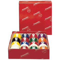 Aramith Continental Belgian Billiard Ball Set, Pool Balls, CueStix - Olhausen Online