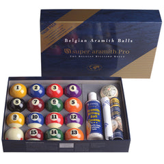 Super Aramith Pro Value Pack, Pool Balls, CueStix - Olhausen Online