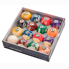 Action White Marble Ball Set