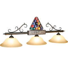 "56"" Billiard Ball Triangle Light, Billiard Lighting, Ram Gamerooms - Olhausen Online"
