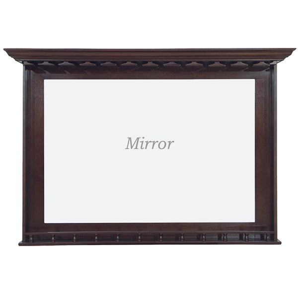 Bar Mirror with Stem Holders, Mirror, Ram Gamerooms - Olhausen Online