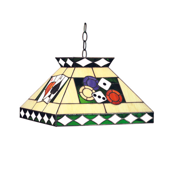 "18"" Poker Pendant Light, Pendant Lighting, Ram Gamerooms - Olhausen Online"