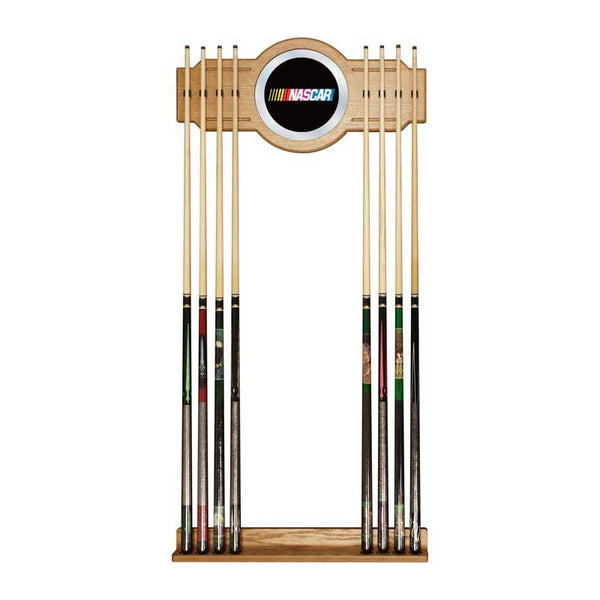 NASCAR Billiard Cue Rack with Mirror, Cue Rack, TradeMark - Olhausen Online